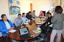 Reunión en Municipalidad Monte Patria